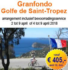 Granfondo Saint Tropez arrangement