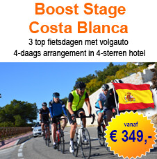 Boost Stage Costa Blanca